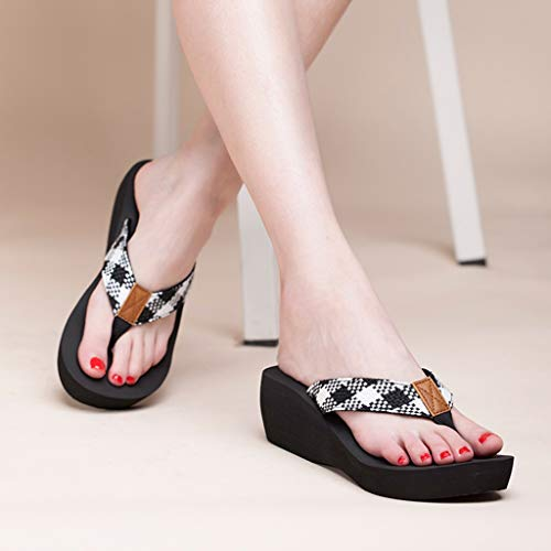 Suela Gruesa Sponge Negro Chanclas Aminshap Cool Zapatillas Shoes Modelos De Cake Femeninos Sandals Beach Antideslizantes 7OnqwB