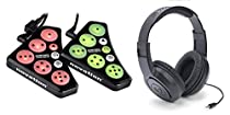 Novation DICER Digital Cue Point+Looping Serato/Traktor DJ Controller+Headphones