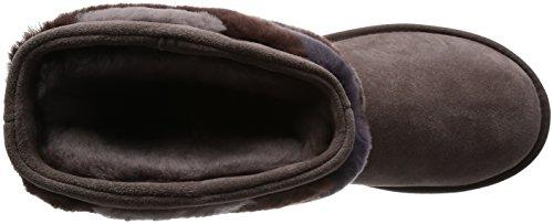 UGG Australia Damen Boots 'Tania' mit Fell-Dekoration Burgund