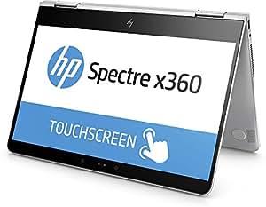 """HP Spectre x360 13-ac000ns - Portátil convertible de 13.3"""" Full HD (Intel Core i7-7500U, 8 GB de RAM, 256 GB de SSD, Intel HD 620, Windows 10 Home 64), color Plateado natural"""