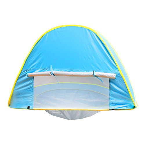 Nequare Pop Up Tent Baby Beach pool Sun Shelter UV Protection Beach shade for Baby and Family  sc 1 st  Summer Products Store & Pop Up Tent Baby Beach pool Sun Shelter UV Protection Beach shade ...