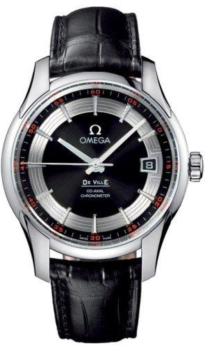 Omega De Ville Hour Vision - Reloj (Reloj de pulsera, Masculino, Cuero,