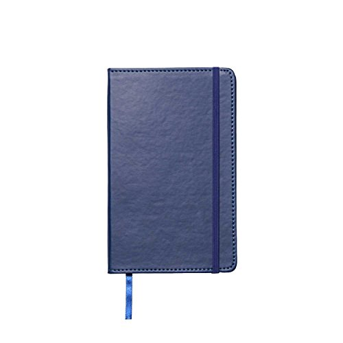 Leatherette Journal (C.R. Gibson Leatherette Journal, By Markings, Smyth Sewn Binding, Ribbon Marker, Elastic Band Closure, Includes 240 Ruled Pages, Measures 5