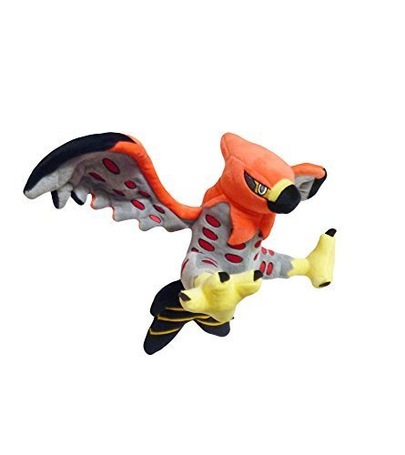 Pokemon: 10-inch Talonflame Fire Bird Plush Toy (Flying Type)