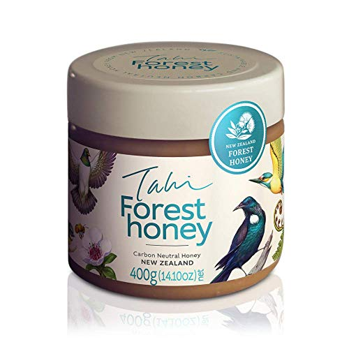 New Zealand Forest Honey eco-friendly, raw and pure 400gram (14.1oz) by Tahi