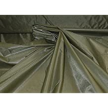 """New 60"""" Olive Green Calendered Rip stop Nylon Fabric"""