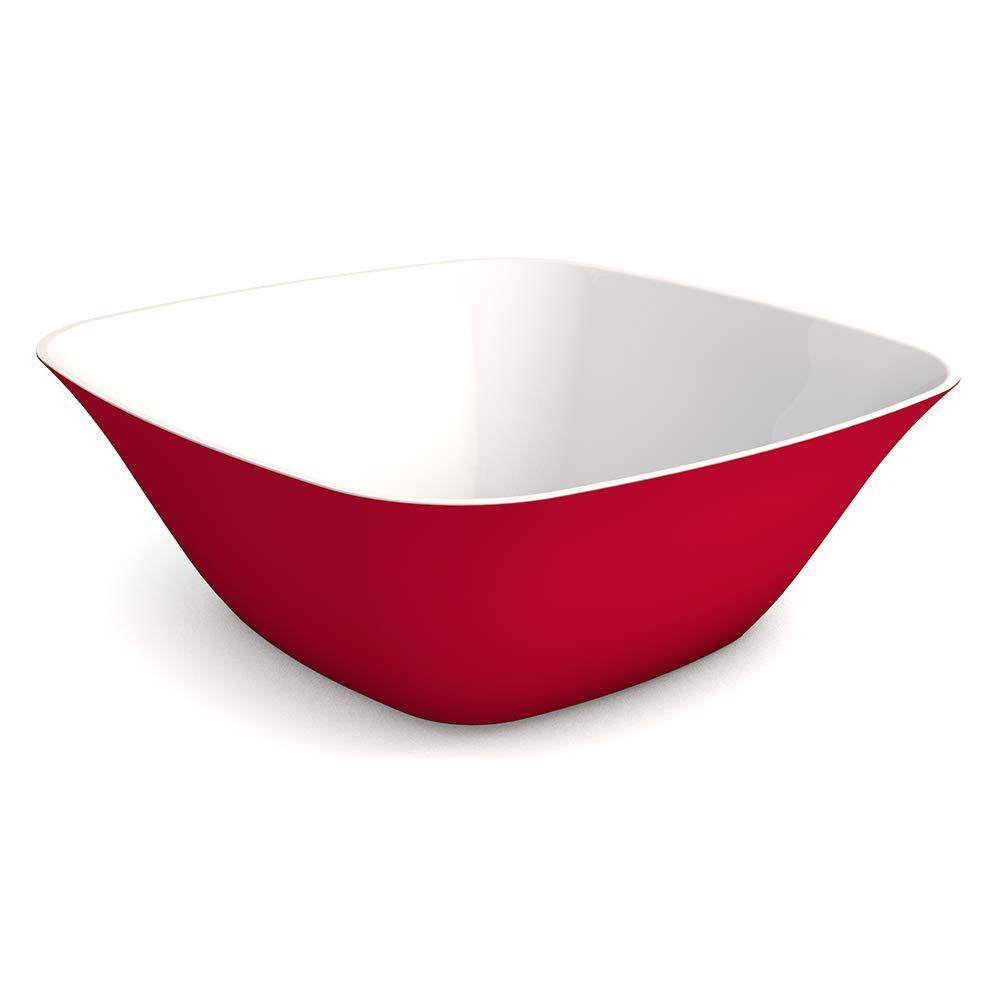 Ornamin saladier 2400 ml rouge m/élamine mod/èle 643