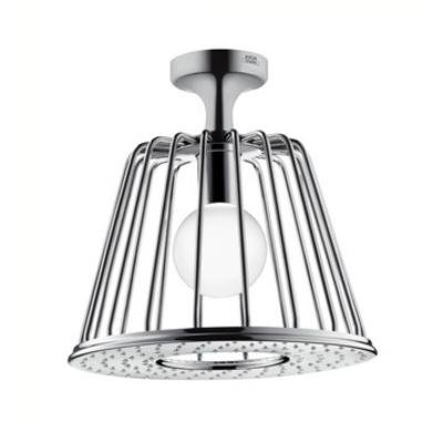 AXOR 26032001 Hansgrohe Nendo Lamp Shower Ceiling Mount, Chrome Finish