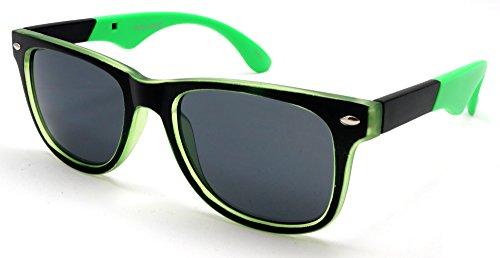 Unisex Neon Classic Wayfarer Sunglasses - Miranda Miguel Mambo - Miranda Sunglasses
