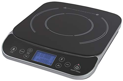 Max Burton #6450 Digital LCD 1800 Watt Induction Cooktop Counter Top Burner (Food Case 48 Hot Display)