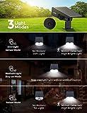 LITOM 30 LEDs Solar Motion Sensor Landscape