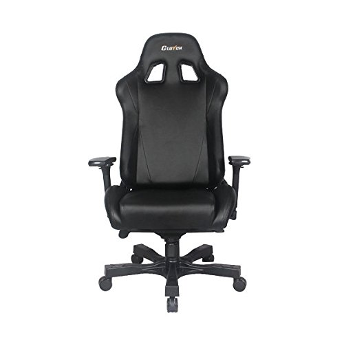 - Clutch Chairz Throttle Series Alpha Premium Gaming Chair (Black)
