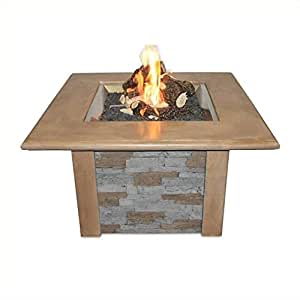 Bowery Hill Firepit Table in Mocha