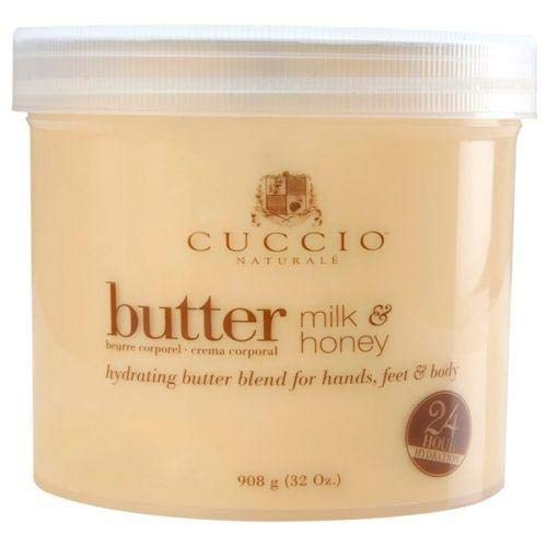 Cuccio Naturale Milk and Honey Butter Blend 26oz (750g) (Touch Body Butter)