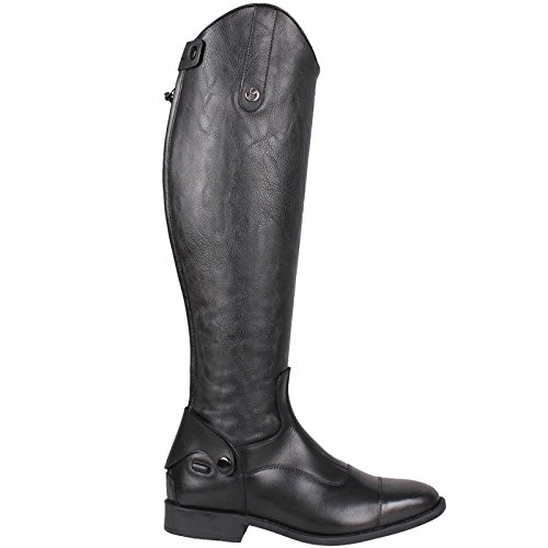 Regular Calf 7 Riding Black QHP Black Birgit UK New Size Long Boots SnwpXSYq