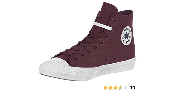 Amazon.com | Converse Men's Ct Ii Hi Sneakers, Red (Deep Bordeaux ...