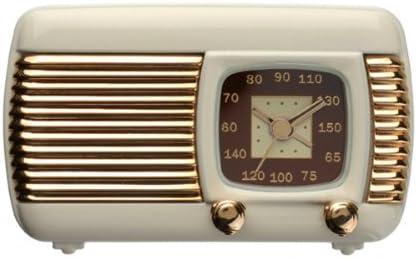 Reloj De Mesa en oldstyle Radio transistor Beige - con despertador ...