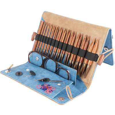 Knitter's Pride KP150301 Ginger Deluxe Interchangeable Needles Set - Interchangeable Knitting Needles