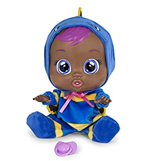 Cry Babies Floppy Doll, Blue