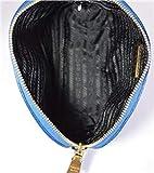Prada Contenitore Cobalto Blue Vitello Daino Vanity