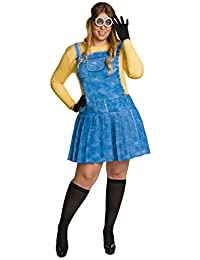 Rubies Costume Women's Minion Plus Size Costume