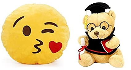 Minion Kissing Camera : Buy deals for indian kissing soft smile cushion combo with