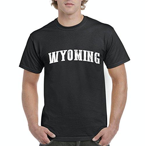 Ugo WY Wyoming Cheyenne Map Cowboys & Cowgirls Home University of Wyoming Men's T-Shirt Tee