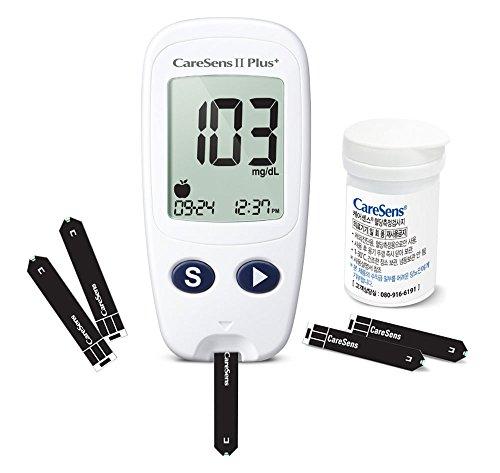 CareSens2-Plus-Blood-Glucose-Monitoring-System-Test-Strips-Complete-Kit-Lancets