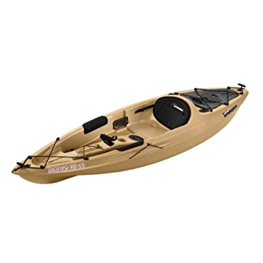 Sun Dolphin Journey Sit-on-top Fishing Kayak (Sand, 10')