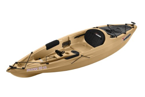 Sun Dolphin Journey Sit-on-top Fishing Kayak (Sand, 10-Feet) (Tandem Fishing Kayaks)
