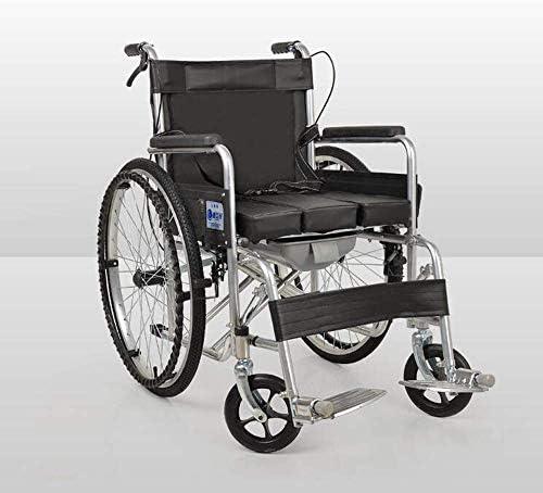 軽量の調節可能な車椅子17KG輸送医療用椅子人間工学に基づいた快適なアームレストリフト脚サポート便器150kg耐荷重45 * 46cmシート幅