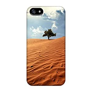 Awesome LastMemory Defender Tpu Hard Case Cover For Iphone 5/5s- Desert Tree