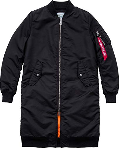 Sage Green Long 1 Black Coat Industries Rib 168010 Ma Alpha Wmn qWRTwZHF