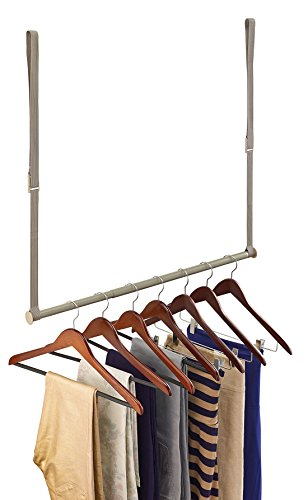 ClosetMaid 31220 Double Hang Closet Rod, Nickel (Hang Closet Double)
