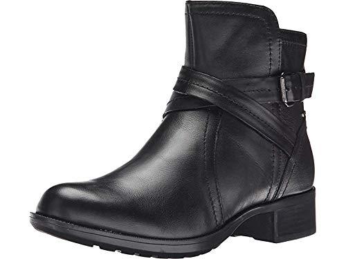Rockport Cobb Hill Women's Caroline  Waterproof Boot, Black, 8.5 M -
