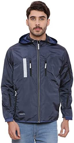 VERSATYL Multi Utility Travel Jacket With 18 Pockets and 29 features With Detachable Hood Unisex 100/% Polyster