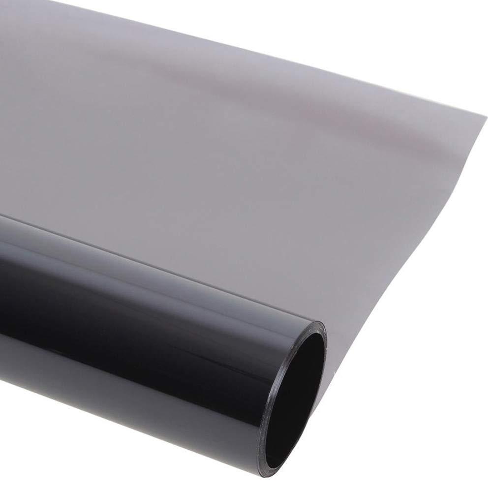 Color Negro Tintada L/ámina de protecci/ón Solar para Coche l/ámina para Ventanas autoadhesiva 50 x 300 cm Roblue l/ámina de protecci/ón Solar