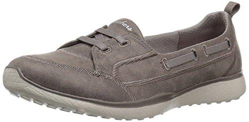 Skechers Women's Microburst Dearest Sneaker Dark Taupe