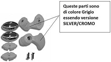 Novellini Rodamientos + Soportes Lunes R VERS. Riel único Silver ...