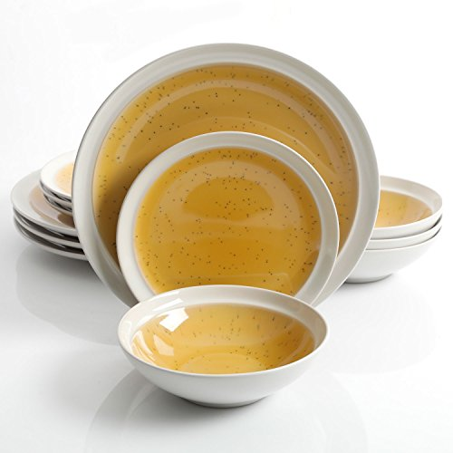 yellow dishes - 7