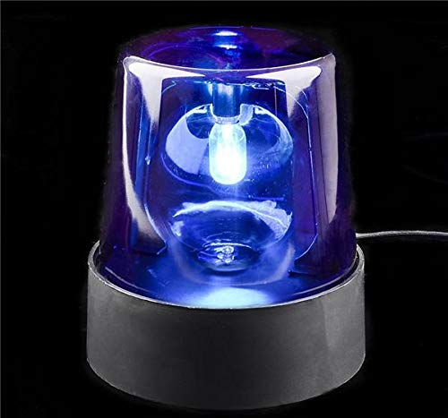 Rhode Island Novelty Blue Police Beacon Light]()