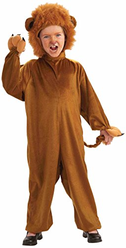 Forum Novelties Cozy Fleece Lion Costume, Child Medium for $<!--$15.94-->