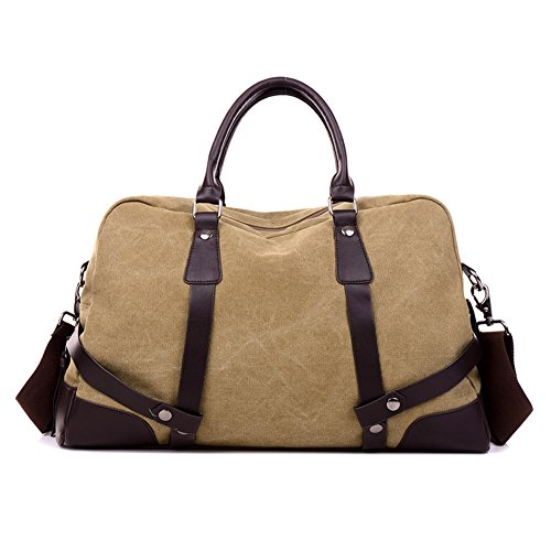 Hombres bolsos,bolso de la lona,bolsas,solo hombro /bandolera-Gris Kaki