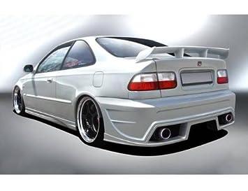 Honda Civic VI Hatchback 1996 - 2000 Rendimiento deportivo Rear Bumper: Amazon.es: Coche y moto