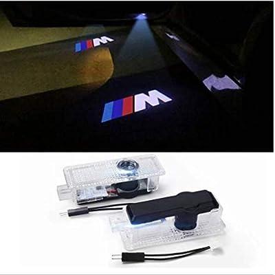2PCS Car Door LED Light Projector Ghost Shadow Lights Welcome Light Laser Door Logo Lights Car Projection: Home Improvement