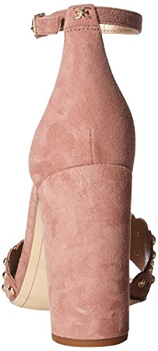 Sam Edelman Women's Yaria Heeled Sandal Dusty Rose 8qFSv8N