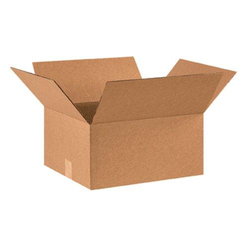 "Aviditi 16148 Corrugated Box, 16"" Length x 14"" Width x 8"" He"