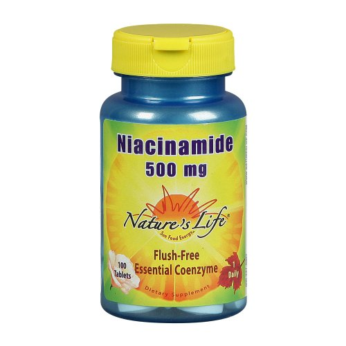 Nature's Life Niacinamide Tablets, 500 Mg, 100 Count (Pack of 2) Review