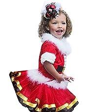 Wedding Party Birthday Dress Conjunto de Ropa de Falda de tutú de Navidad para niñas pequeñas y bebés