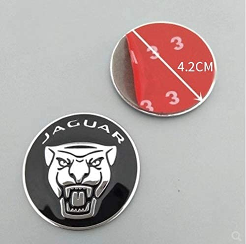 MAXDOOL Panel Frame Cover Trim Accessories Gear Shift Knob Cover Decoration Trim Sticker for Jaguar XF XE XJ F-Pace Red